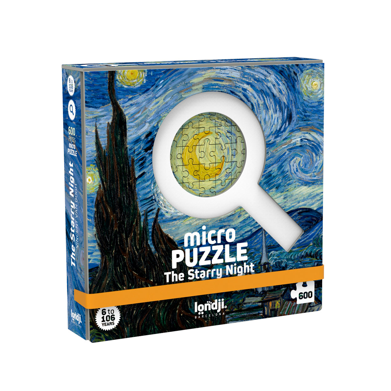 Micro Puzzle Starry Night (600 pieces) by Londji
