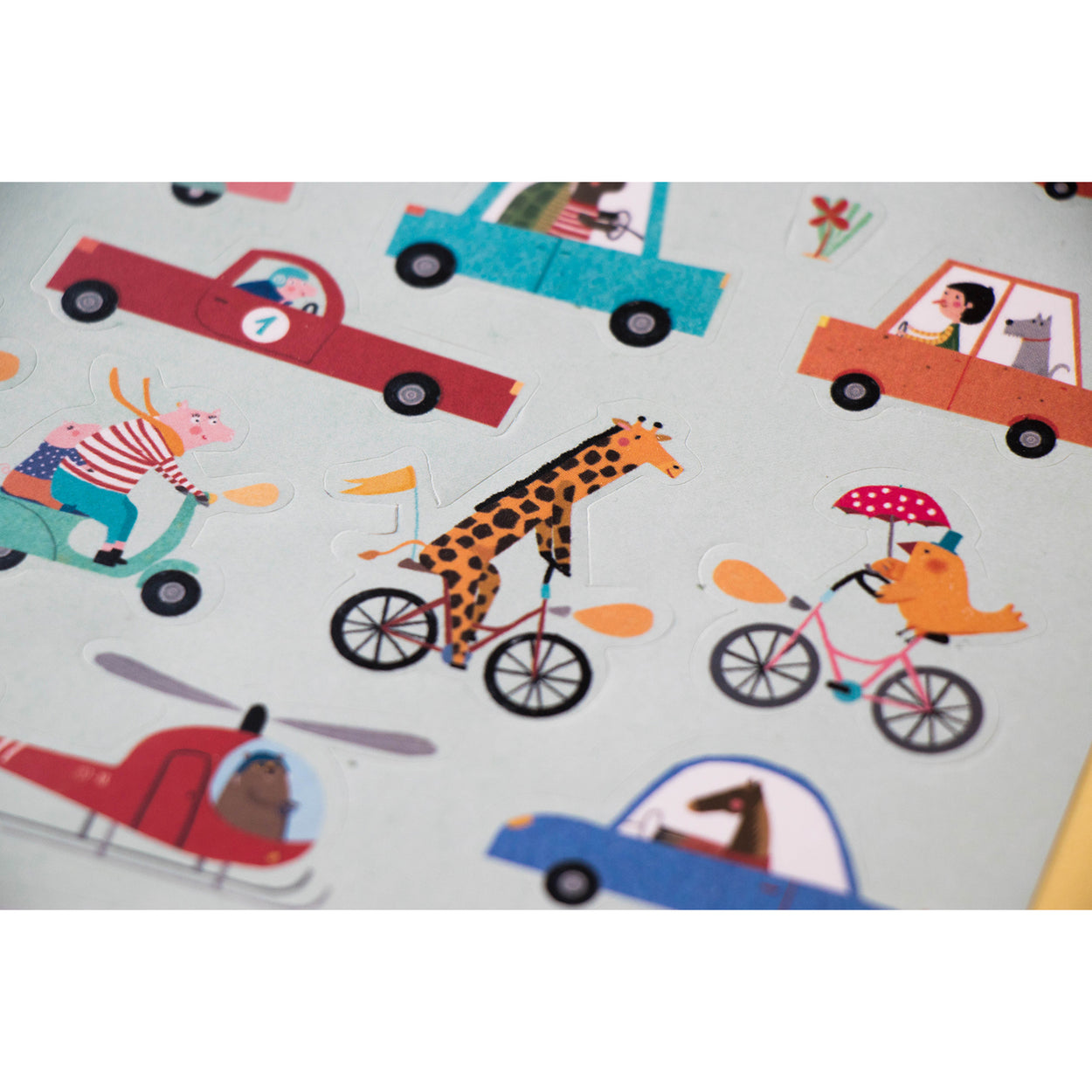 Londji Activity Book Stickers City