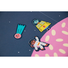 Londji Activity Book Stickers Space