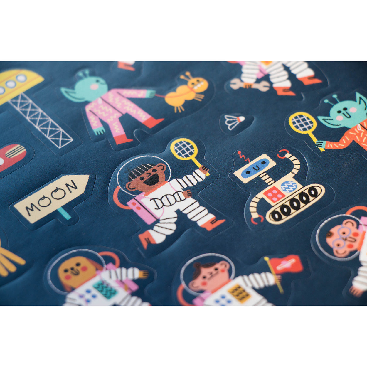 Space stickers for kids