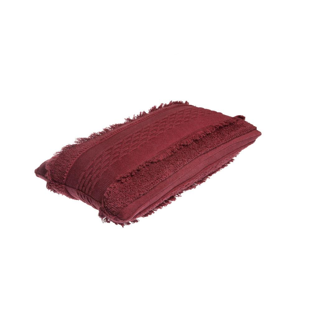 Lorena Canals Knitted Washable Cushion Air Savannah Red