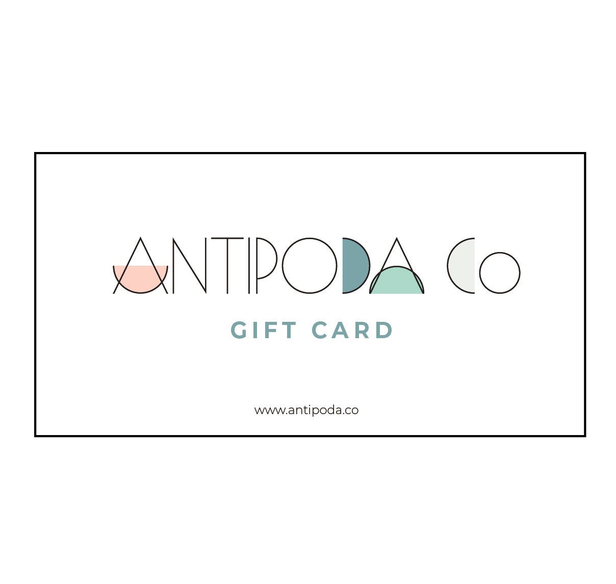 Antipoda Co Gift Card