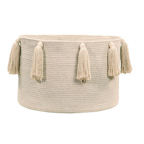 Lorena Canals Basket Tassels Natural