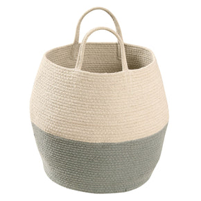 Lorena Canals Basket Zoco Vintage Blue-Natural