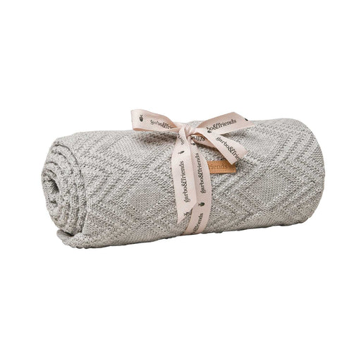 Classic Cotton Blanket in Grey by Garbo&Friends