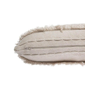 Lorena Canals Washable Knitted Cushion Air Dune White