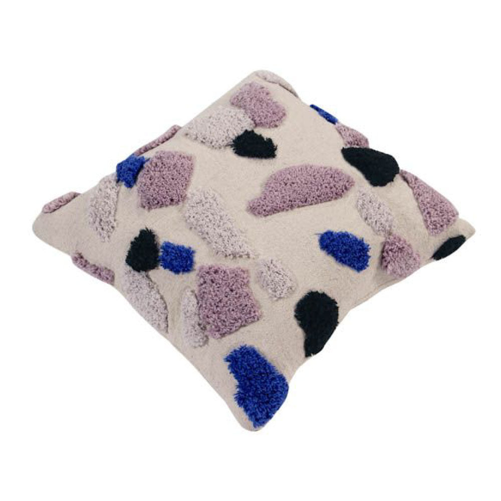 Lorena Canals Washable Cushion Terrazzo Sapphire