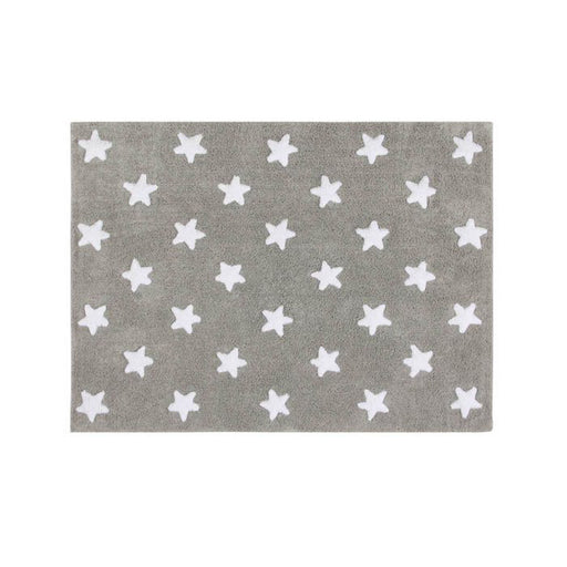 Lorena Canals Washable Rug Stars Grey-White