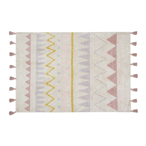 Lorena Canals Washable Rug Azteca Natural-Vintage Nude