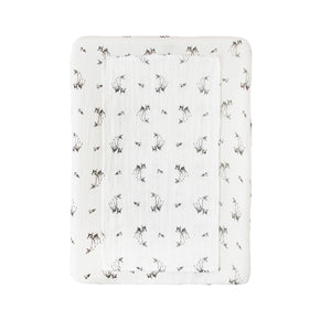 Rose in April Fawn Cover for PUDI Mattress for Noga Changing table