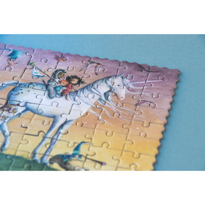 Close up of Londji Unicorn Puzzle