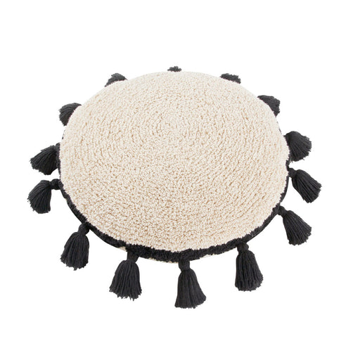 Lorena Canals Washable Cushion Circle Black