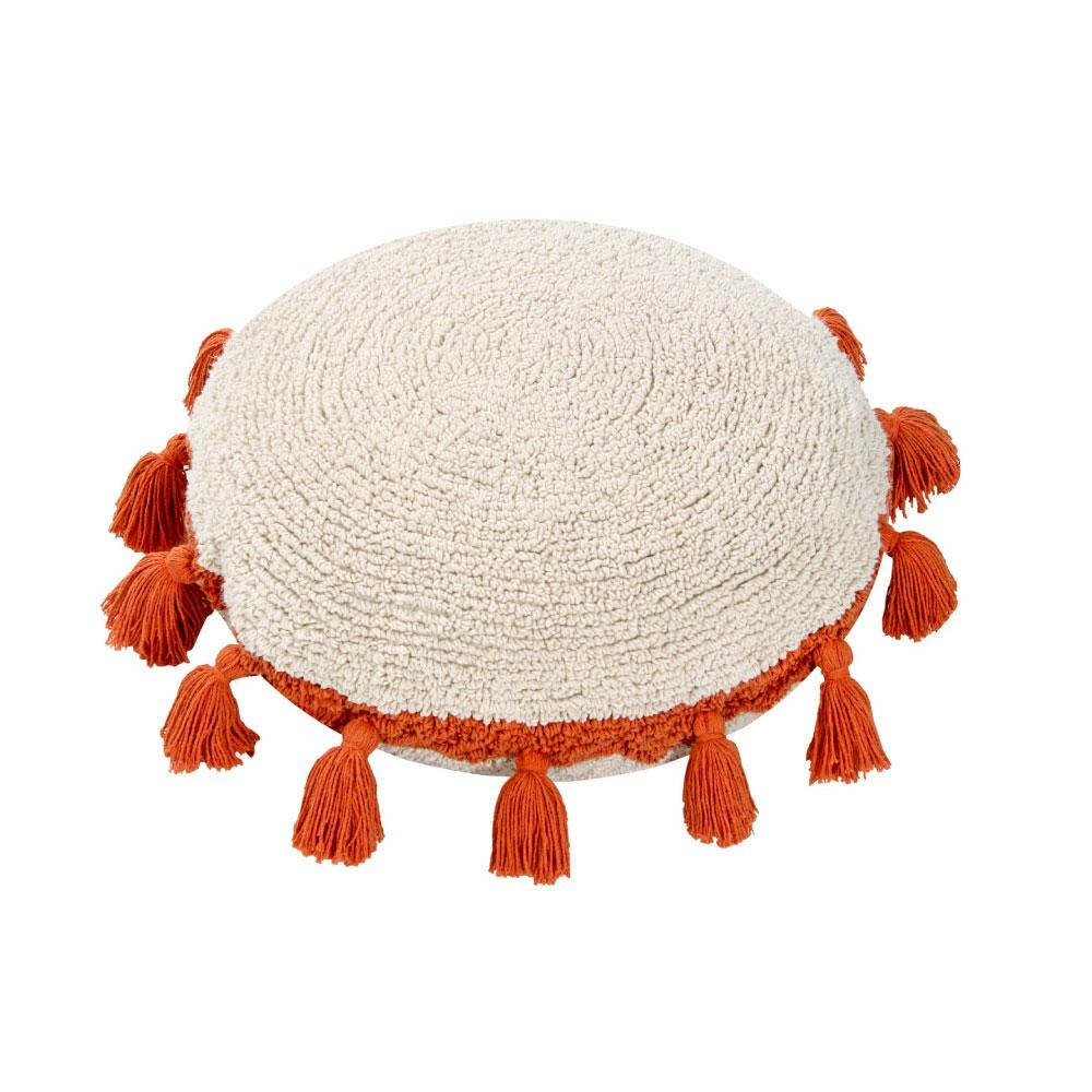 Lorena Canals Washable Cushion Circle Terracotta