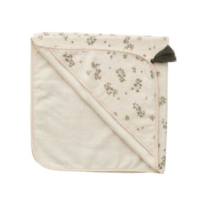 Garbo&Friends Baby Hooded Towel in Clover