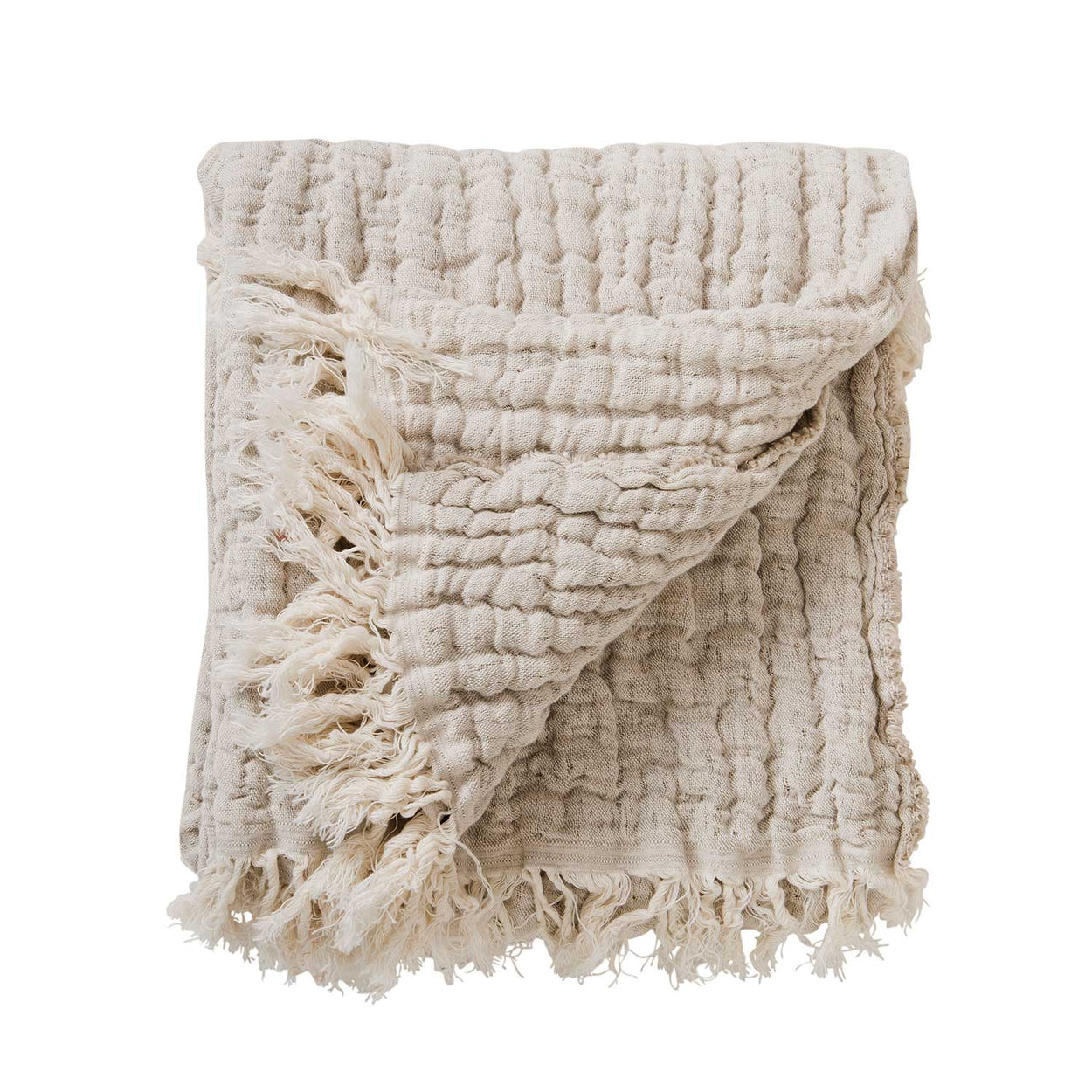Garbo&Friends Mellow Lin natural fibre blanket