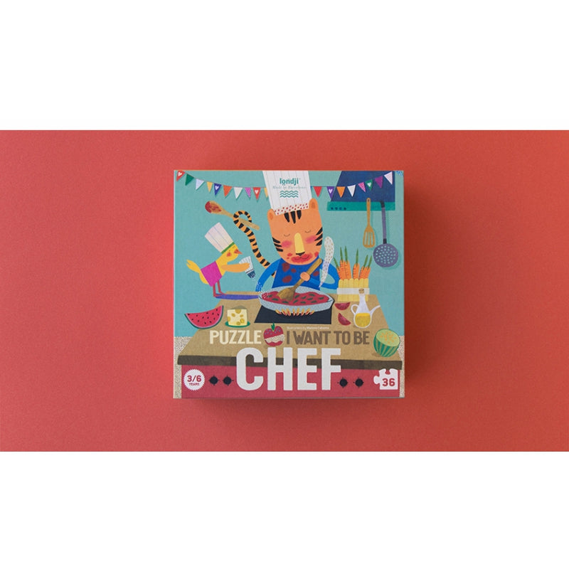 Londji Puzzle I want to be a Chef