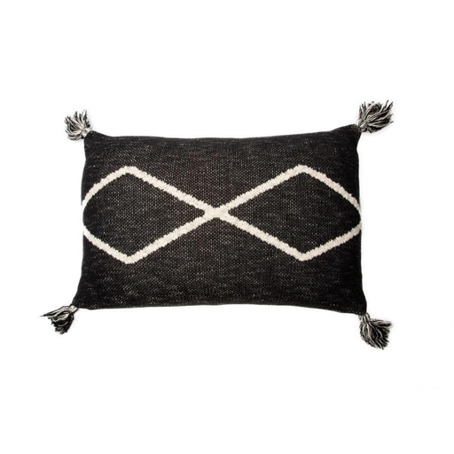 Lorena Canals Knitted Cushion Oasis Black