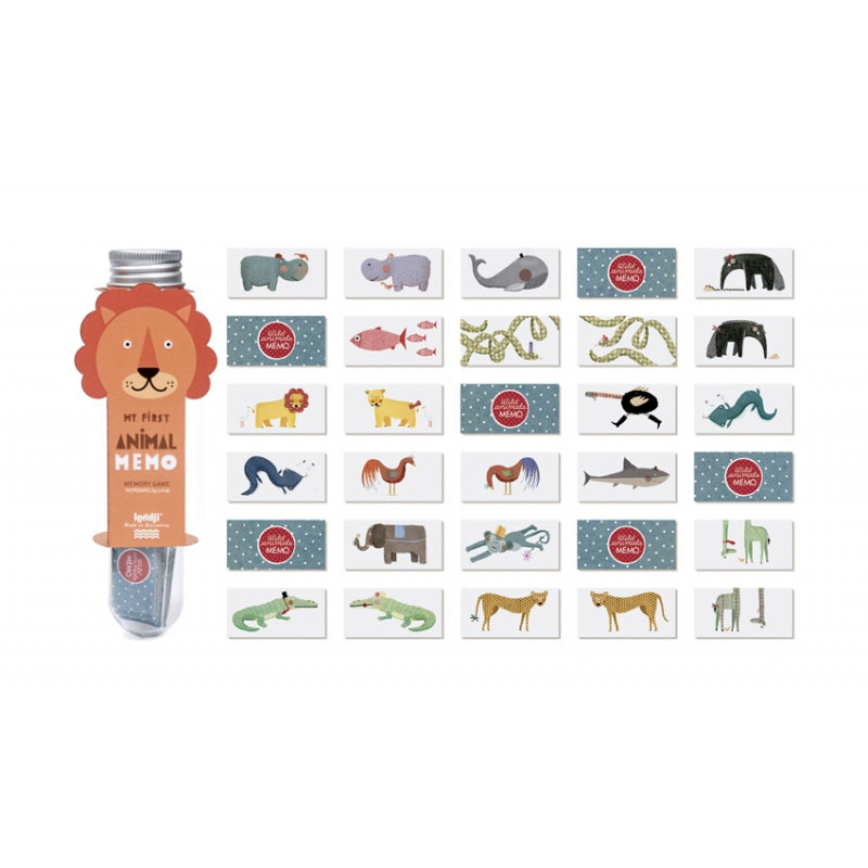 Londji Micro Memo Animal (Set 12)