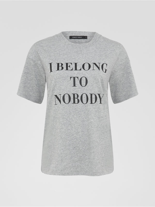 Belong To Nobody Tee Bourke
