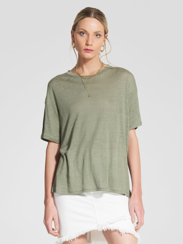Linen Classic Tee Retreat