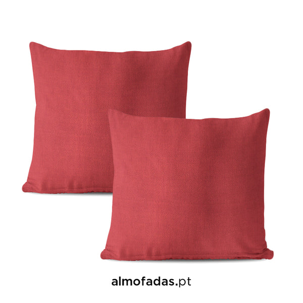 Pack 2x Almofadas Apollo Red