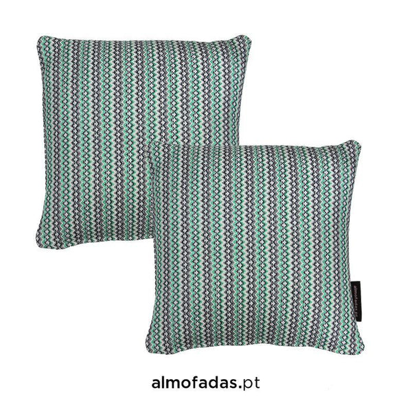 Pack 2X Almofadas Bliss Comporta Fresh Mint Blue