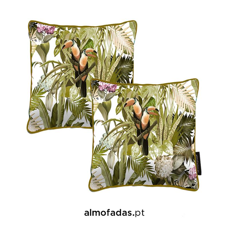 Pack 2X Almofadas Blooming Natural Sunshine