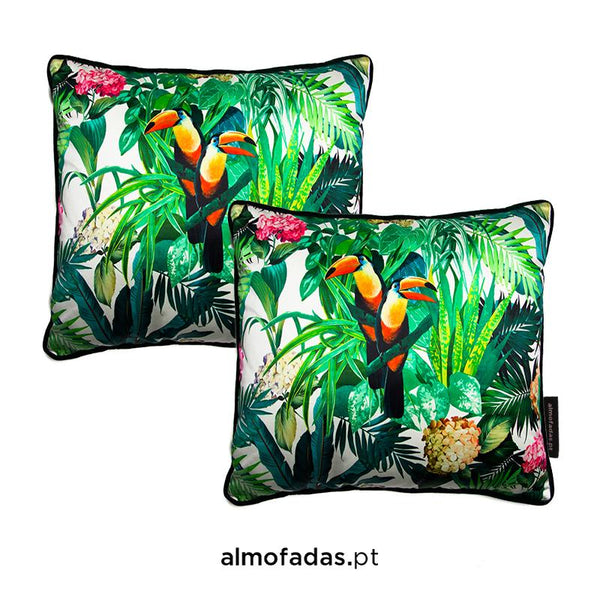 Pack 2X Almofadas Blooming Tropical Bloom