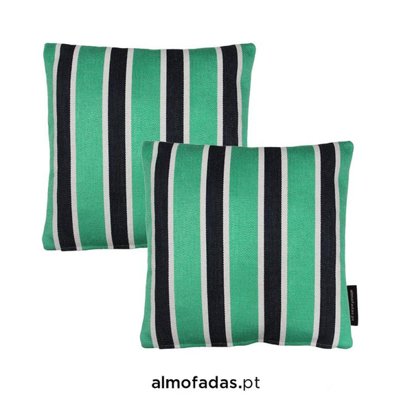 Pack 2X Almofadas Cabana Fresh Mint Blue