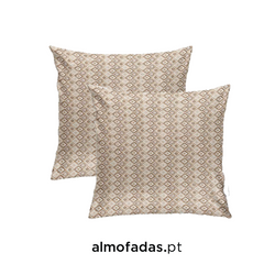 Pack 2X Almofadas HERDADE IN/OUTDOOR 02 Natural Linen