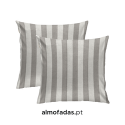 PACK 2X ALMOFADAS SUNSET STRIPES SILVER