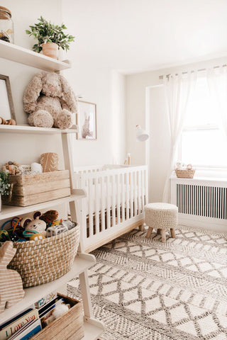 white nursery design inspiration
