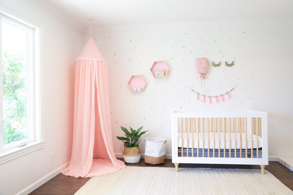 blush nursery design