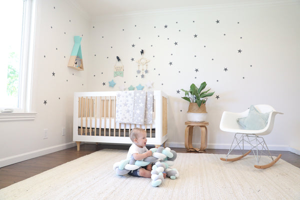 stars theme nursery decor