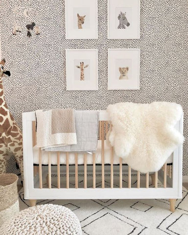gender neutral animal nursery design