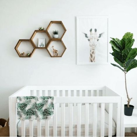gender neutral greenery nursery