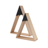 wooden Snow Mountain shaped shelves