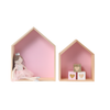 wooden Heart cubes set of 3  baby room decor