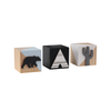 Forest Wooden Cubes Set of 3