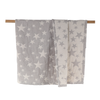 soft Stars baby blanket for crib or stroller