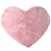 pink Heart shaped area rug