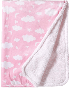 Clouds Fleece Blanket - Designooks- Decorating made easy