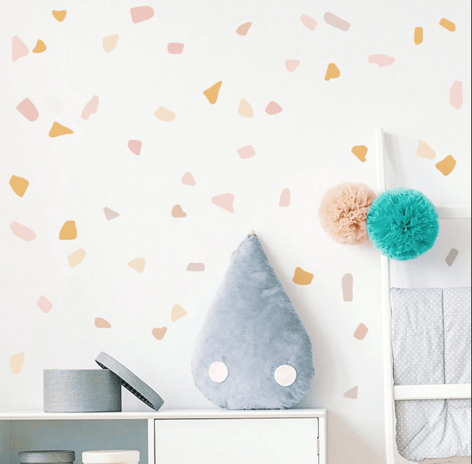 Pebbles wall decals - Designooks- Decorating made easy