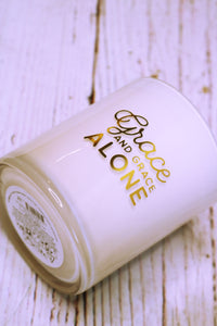Noteables- Grace Alone Candle
