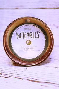 Noteables- Grace And Gratitude Candle
