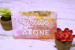 Noteables- Grace Alone Sachet