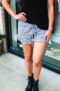 Lovely Leopard Lounge Shorts
