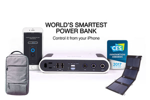 Exclusive Smart Power Bank - Backpack and Solar Charger