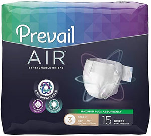 Prevail Air Plus Maximum Absorbency Brief