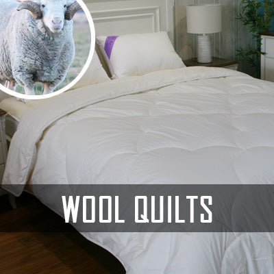 Downs Wool Quilt